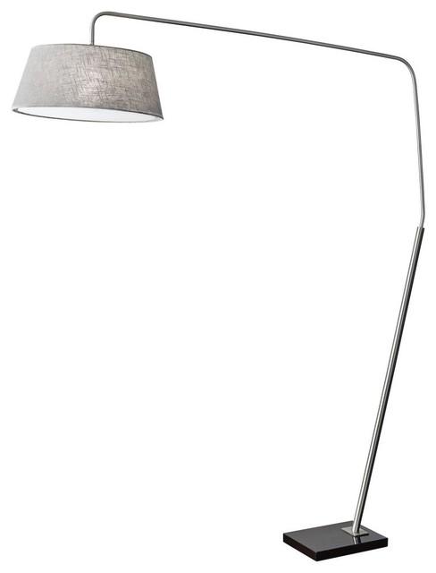 Suki Floor Lantern, White