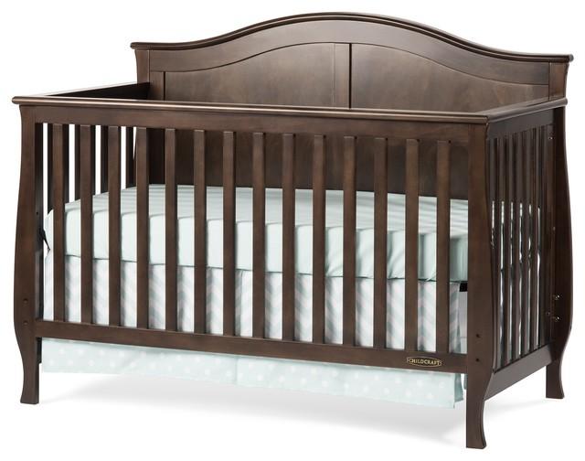 child craft camden 4 in 1 lifetime convertible crib. Black Bedroom Furniture Sets. Home Design Ideas