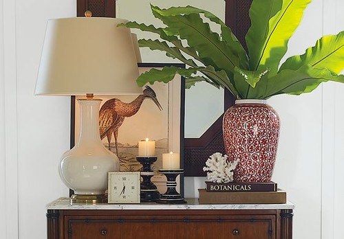 Spring 2009 British Colonial Entry Room Design Ideas | Williams-Sonoma Home tropical entry