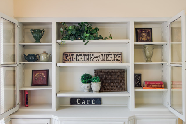more photos aefe8 cddb7 Staged Bookshelves & Shelving - Traditional - Dallas - by ...