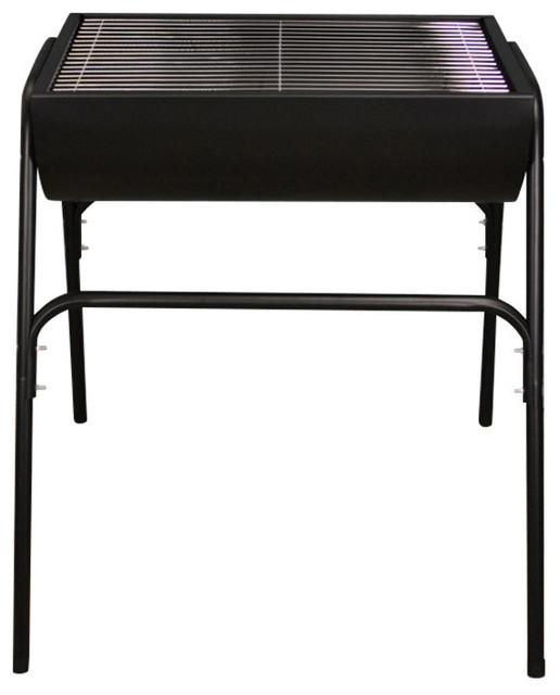 Kingfisher Steel Half Barrel Drum Barbecue