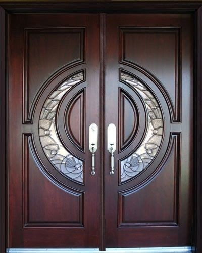 Us door window exterior front entry double wood door for Double doors exterior for homes