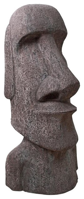 Giant Easter Island Moai Head