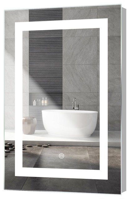 Kent Led Mirror With Touch Sensor 24 X36