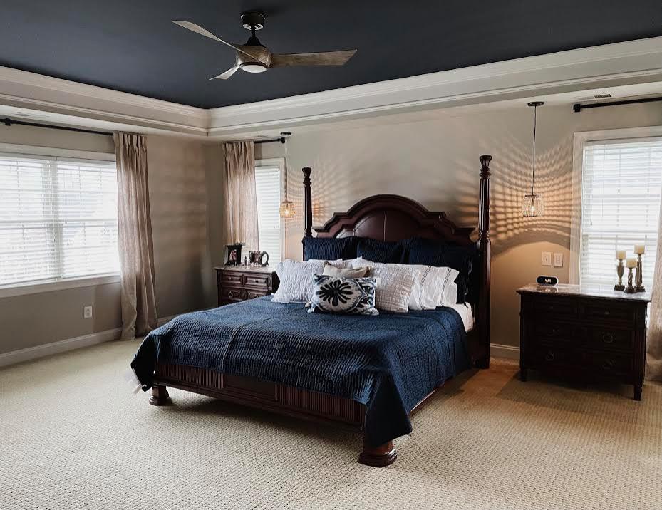 New Bedding, Stylish Lighting