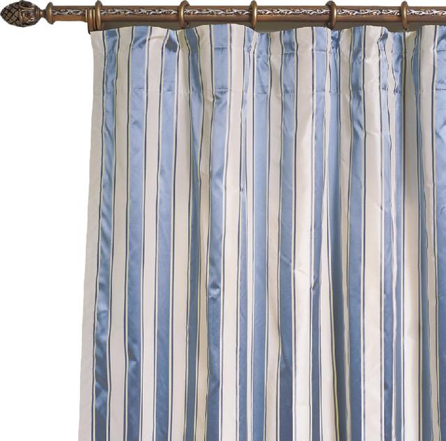 Madison Silk Curtains, 96x52.