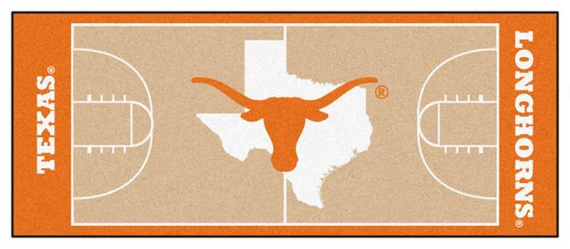 Fanmats Texas Longhorns Basketball Court Runner Rug
