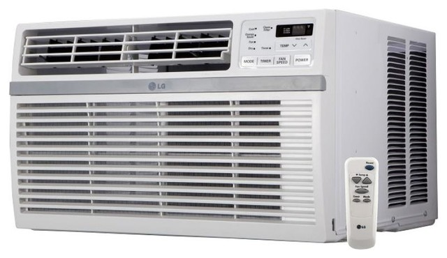 """LG LW2516ER 26"""""""" Window Air Conditioner with 24500 BTU Cooling Capacity in WHite"""