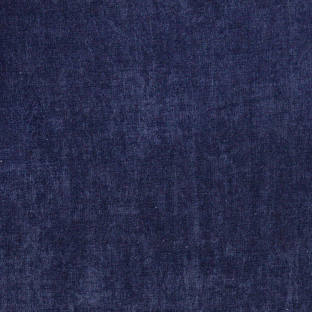 Navy Blue Smooth Velvet Upholstery Fabric By The Yard Contemporary