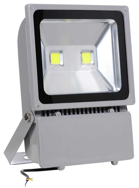 100W LED Flood Light Outdoor Yard Path Signboard Lighting Spot Lamp, Cool  White Contemporary