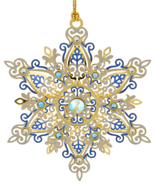 Beacon Design By ChemArt Shimmering Snowflake Ornament