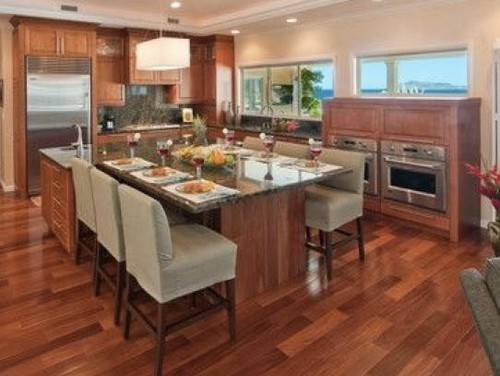 Kitchen Island With Seating Area Home Design