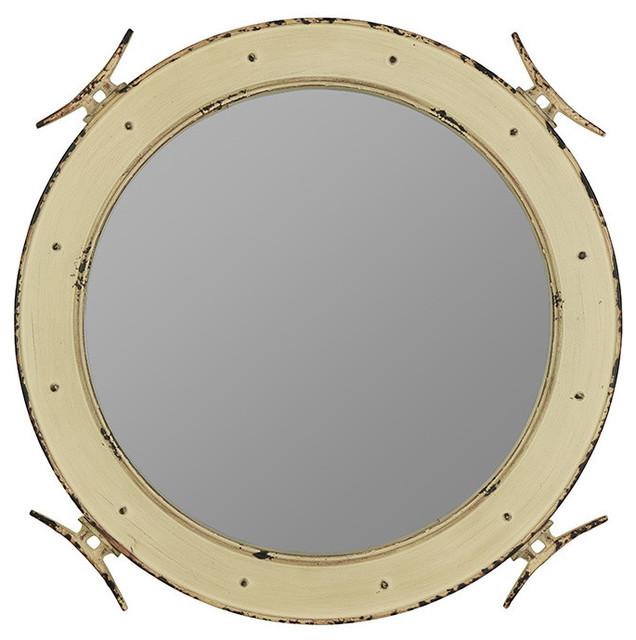Nautical Mirror Farmhouse Wall Mirrors By Cooper Classics