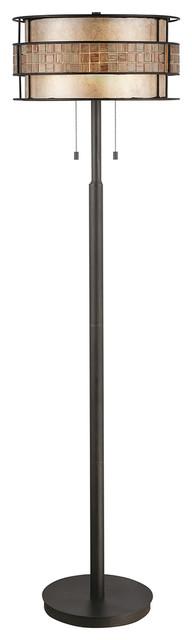 Elegant Floor Lamp, Renaissance Copper
