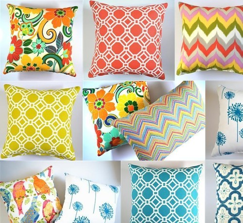 Found Gorgeous Cushion Covers Moroccan/geometric/modern Designs, Colourful,  To Use Indoors Or Outdoors
