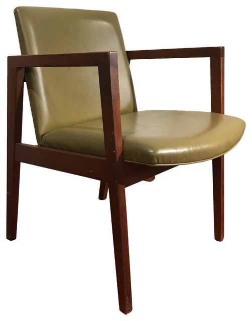 1950s Accent Chairs.Consigned Mid Century Modern Walnut Chair