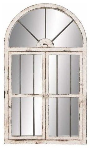 Joanne Arched Window Wall Mirror