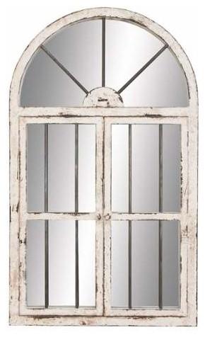 Joanne Arched Window Wall Mirror
