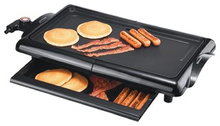 Brentwood Electric Griddle - Contemporary - Electric ...