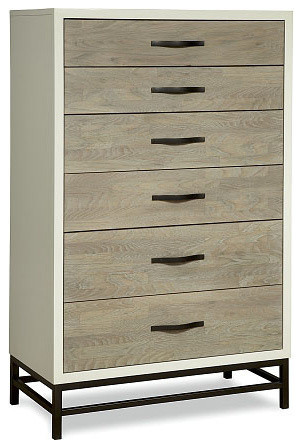 Universal Furniture Great Rooms Chest, Gray/parchment.