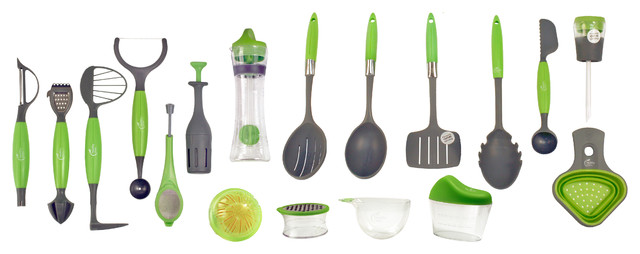 jokari healthy steps 18 piece portion control utensil