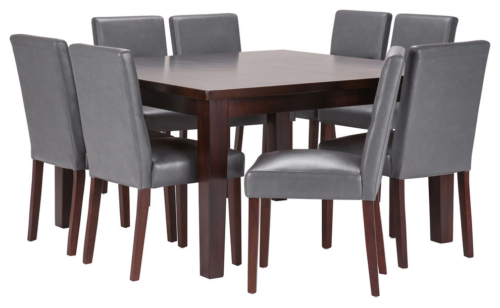 Ashford 9 Piece Dining Set Transitional Dining Sets By Simpli Home Ltd