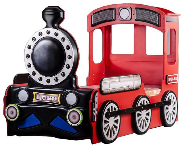 Exceptionnel Locomotive Toddler Car Bed