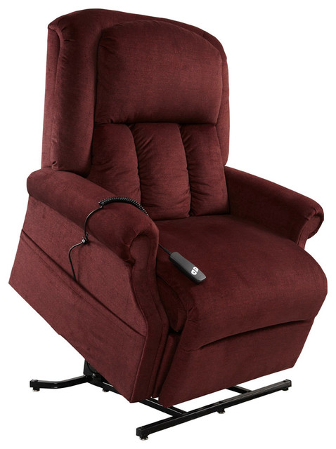 mega motion easy comfort superior heavy duty lift chair bordeaux