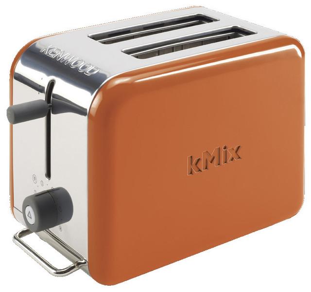 Kenwood Kmix 2 Slice Boutique Papaya Toaster Ttm027