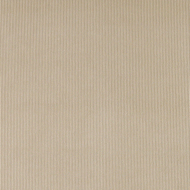 Beige Corduroy Thin Stripe Upholstery Velvet Fabric By