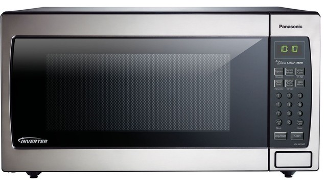 Panasonic 1 6 Cu 1250 Watt Microwave Stainless Steel Nn Sn766s Contemporary Ovens By Goodwinecoolers