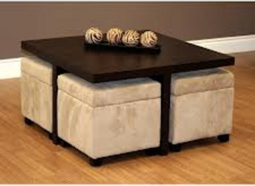 Get A Coffee Table With Movable Ottomans Such As The One In The Picture  Below. Part 14