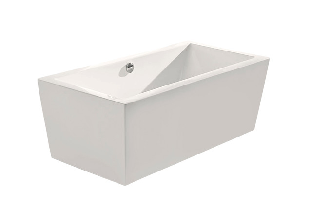 "Aquatica PureScape Freestanding Acrylic Bathtub, 53"""