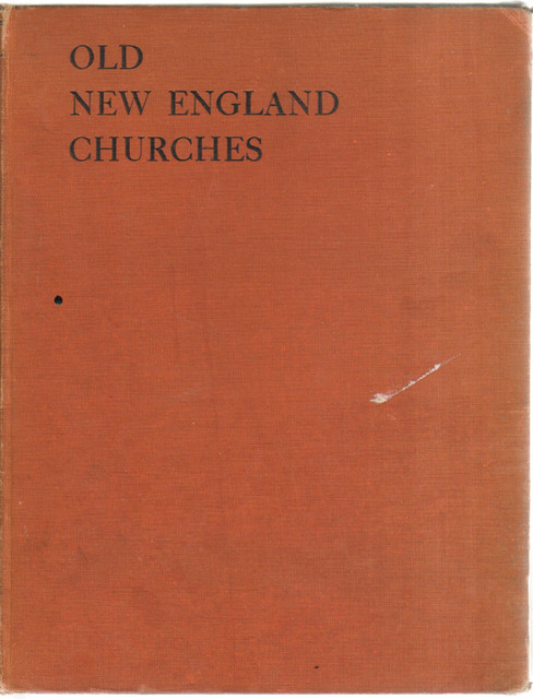 Decorative book old new england churches traditional books by booth williams - Decoratie new england ...