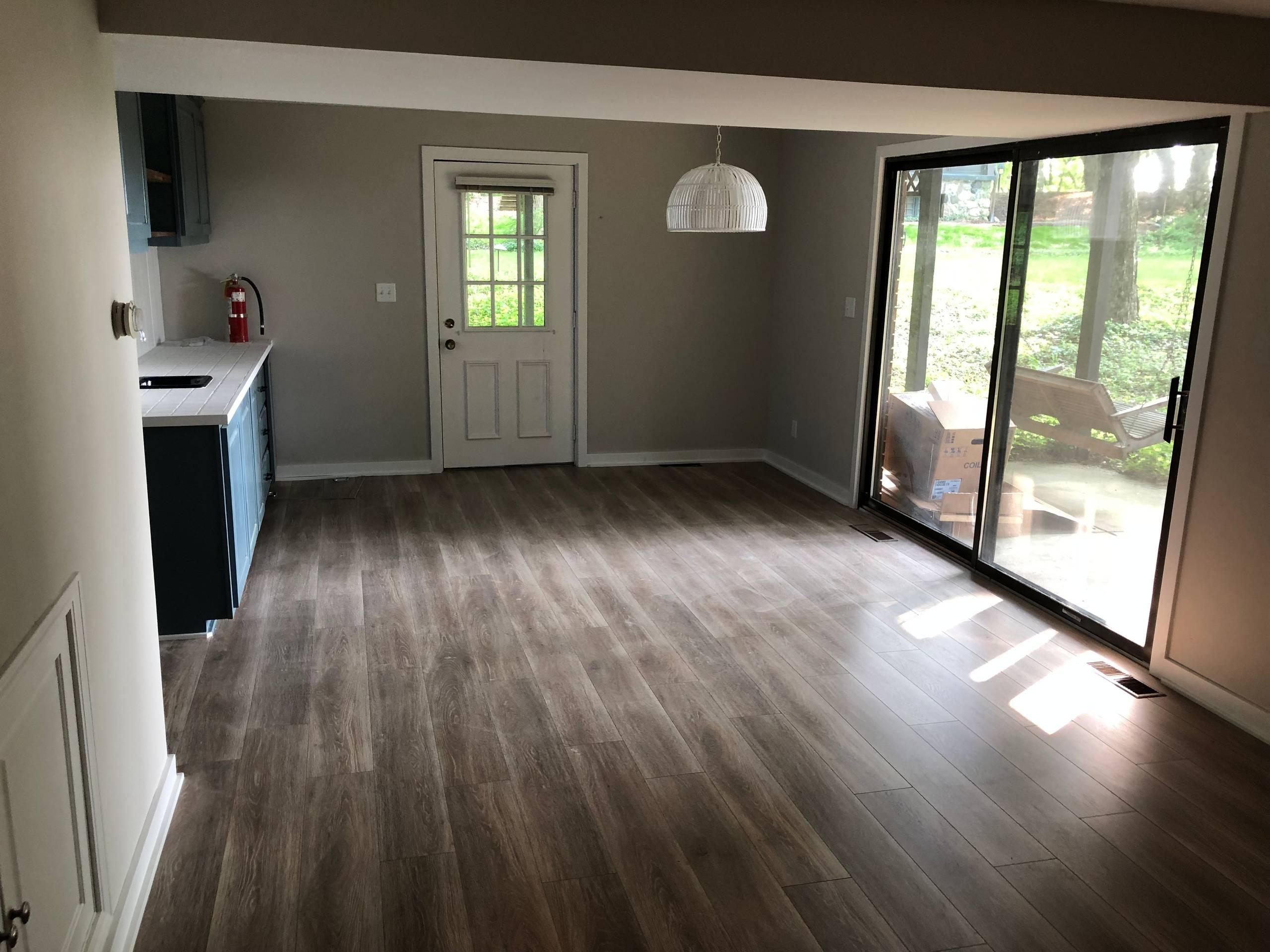 Lake Michigan House rehab