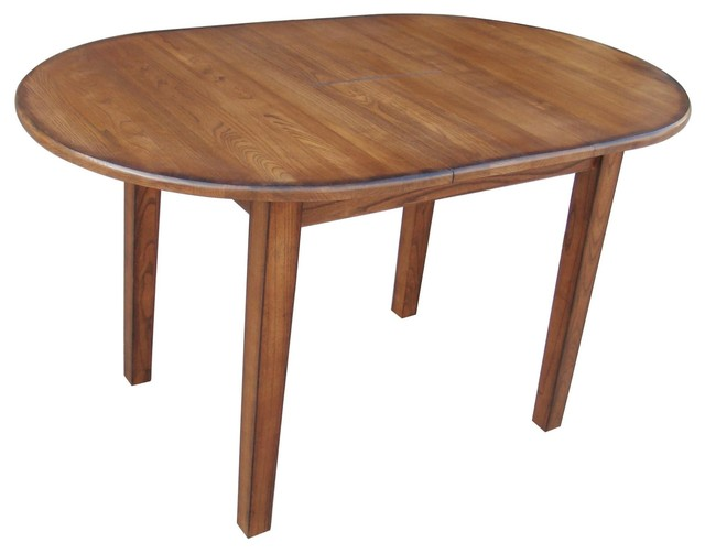 Chelsea Home Driftwood Dining Table Burnished Walnut Finish Dining Tables Houzz