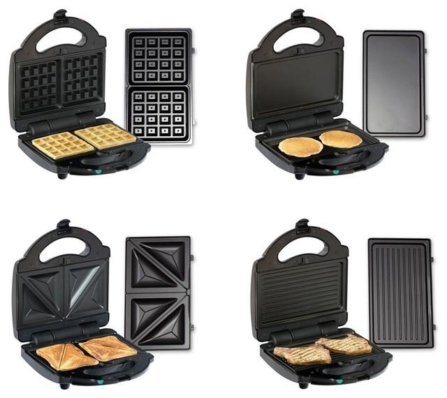 4-In-1 Multi-Purpose Indoor Grill in Black