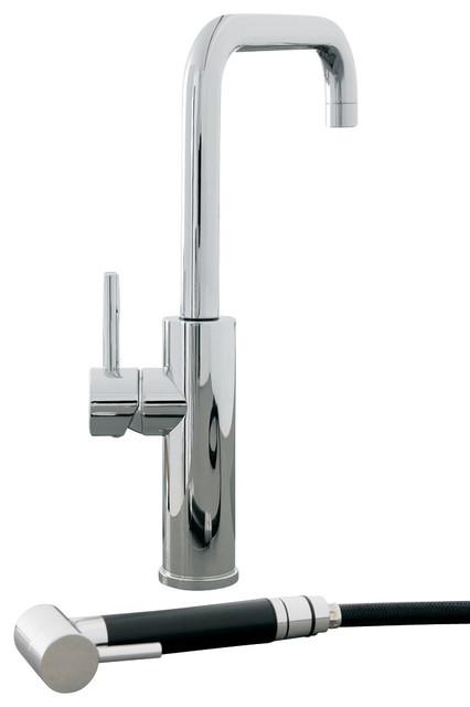 mitu s modern kitchen faucet with side sprayer modern kitchen rh houzz co uk kitchen faucet side sprayer replacement kitchen faucet side spray diverter
