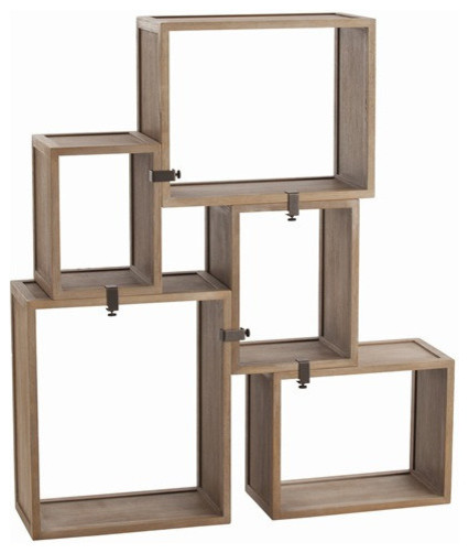 Arteriors Home Stockard Oak Modular Shelves 5353
