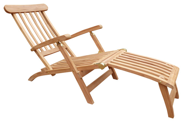 Sparta Chaise Lounger With Cushion