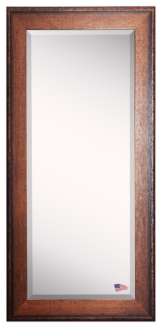 "American Made Rayne Timber Estate Extra Tall Floor Mirror, 30.5""x0.75""x71""."