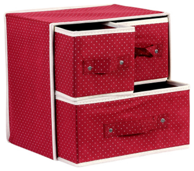 Foldable Drawer-Style Storage Boxes/homes Organizer/bin Storage Containers Wine.