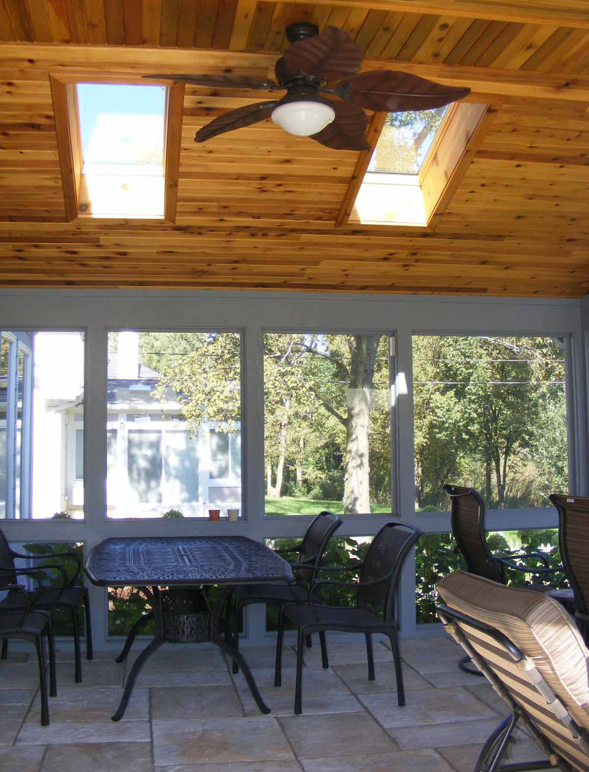 Screened Porch with Dog Wash