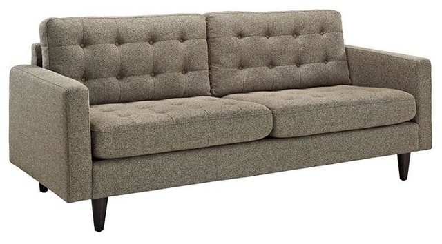 Dylan Upholstered Fabric Sofa Oatmeal