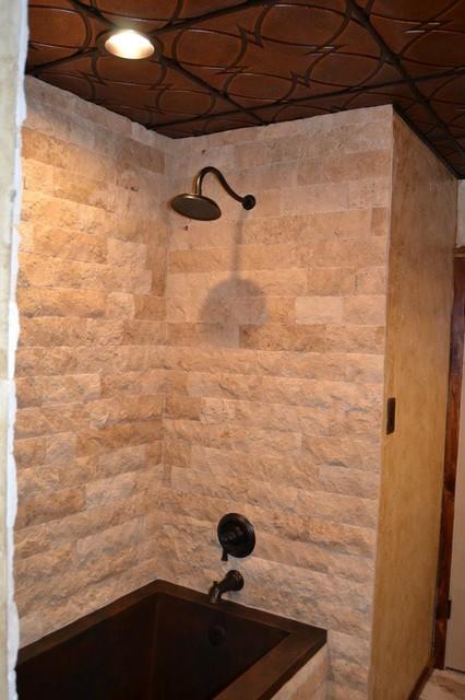 rustic bathroom remodel rustic