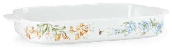 Lenox Butterfly Meadow Bakeware Rectangular Baker.