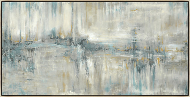 "Lovely Melody, 49.25""x25.25"", Silver Leaf Gallery Float."