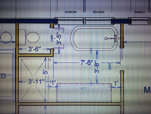 Master Bath Layout Help Please