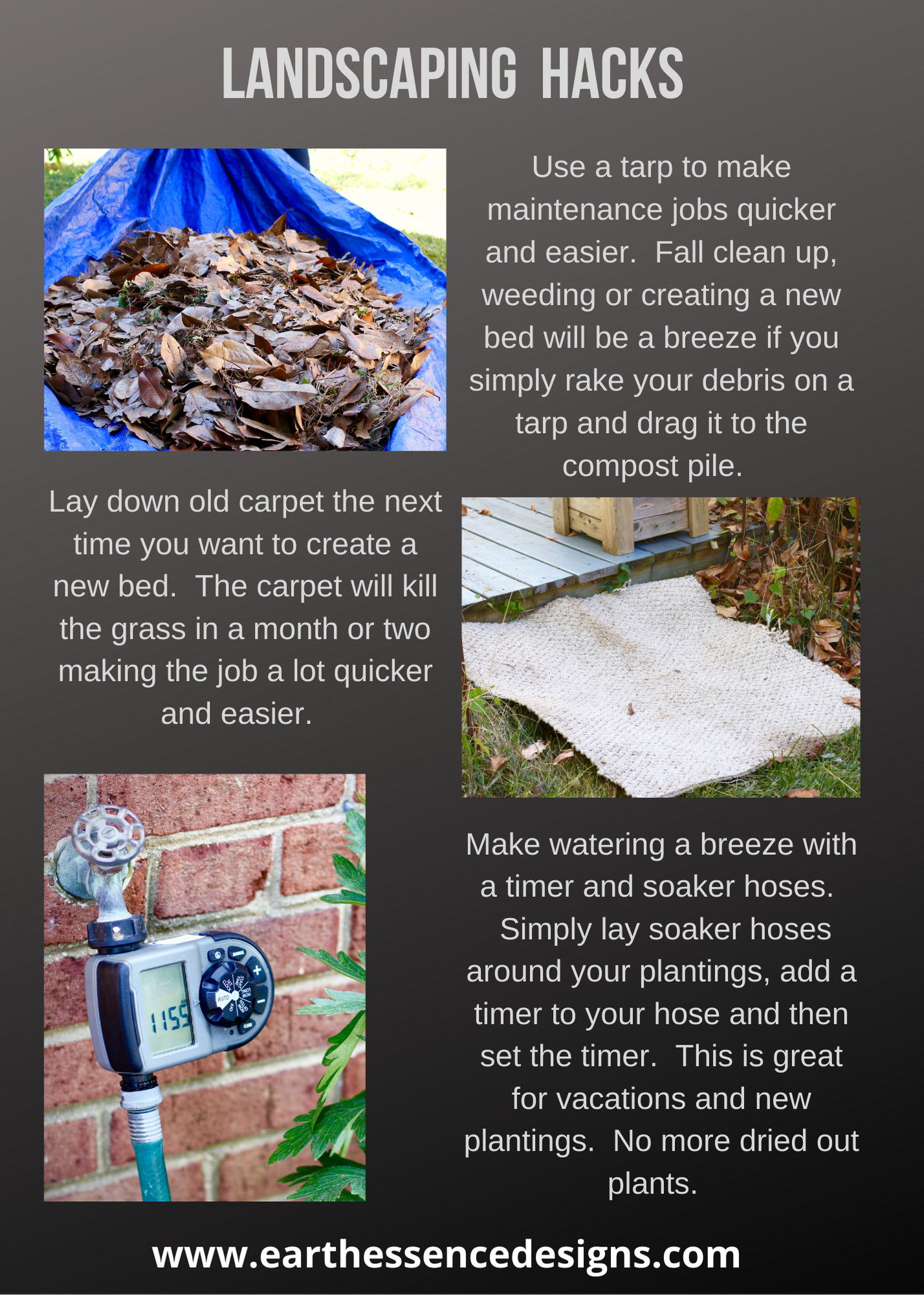Landscaping tips and resources