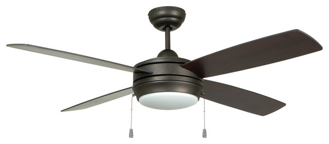 Laval 1-Light Indoor Ceiling Fans, Espresso.